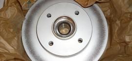 Диск тормозной задний Citroen C4 Coupe (2011-2015)